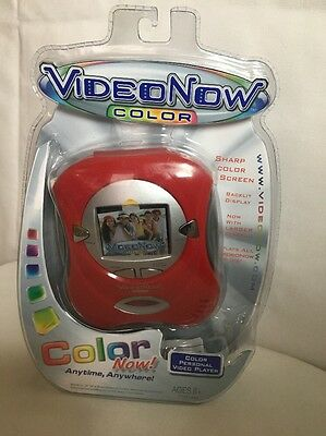 VIDEONOW Color Personal Video Player Red