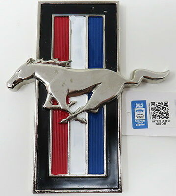 Vintage Ford Mustang Metal Emblem Wall Decor Collectible Ford Mustang Products