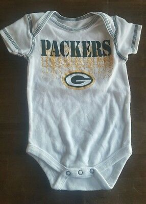 one piece unisex greenbay packers 6-9 month outfit