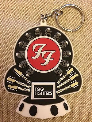"""Foo Fighters """"Break a Leg"""" Keyring Dave Grohl Glastonbury Limited Edition"""
