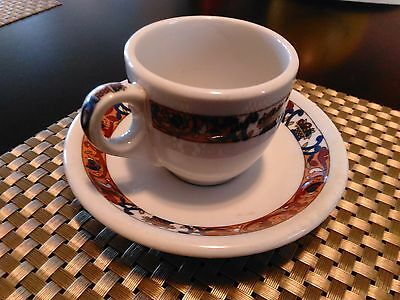 New Orleans Old ROOSEVELT Hotel 1960 COFFEE CUP SAUCER restaurant china shenango