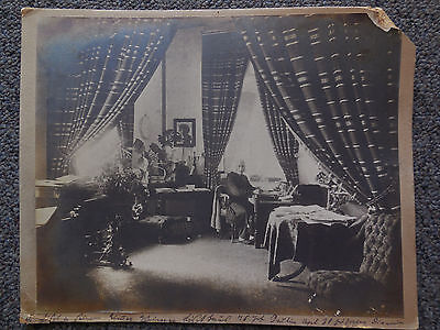 Vtg Franz Liszt (Composer Hungary) Original LOUIS HELD Cabinet Card Photograph