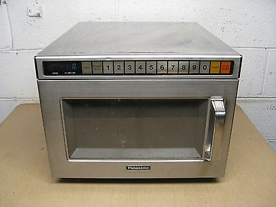 Panasonic Model NE-1257 1200W 120V Commercial Microwave Oven Used Free Shipping