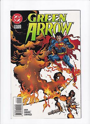 Green Arrow #101 Death of Oliver Queen NM TV Show Superman Appearance