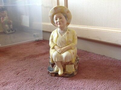 Kevin Francis Toby Jug - The Queen Mother