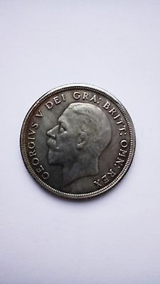 Copy of 1932 George V wreath silver crown coin