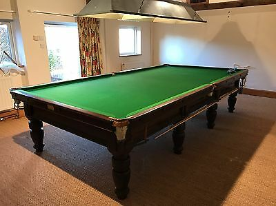 Snooker Table. 12ft Antique. Millssnooker. Sheffield. Snooker. English Pool.