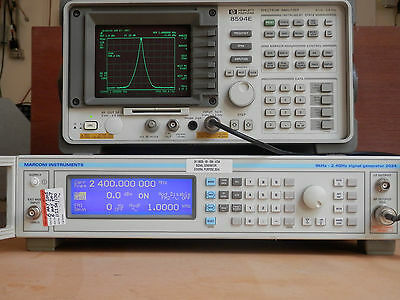 Marconi 2024 9kHz to 2.4GHz Signal Generator, Opt 4. No reserve.