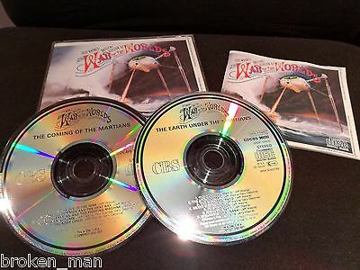 Jeff Waynes The War Of The Worlds 2 Cd Fatbox Set
