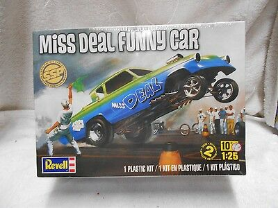 Revell 85-7817 MISS DEAL Funny Car 1/25 scale Model Kit new factory sealed