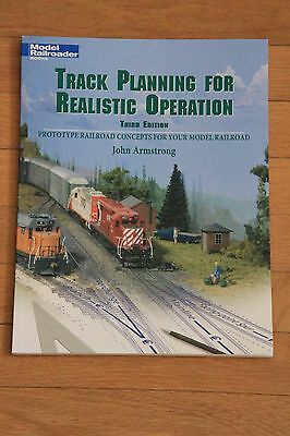 Model Railroader Book : Track Planning for Realistic Operation NEUF