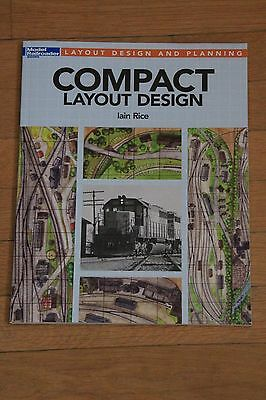 Model railroader Book Compact Layout Design NEUF