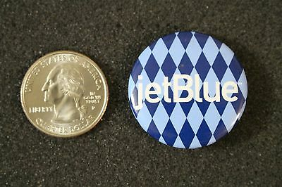 JetBlue Airlines Colorful Advertising Promo Pin Pinback Button #20594