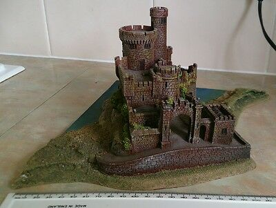 Black Rock castle Warmaster resin Forgeworld 10mm wargaming wargames Warhammer