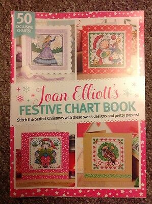 Joan Elliott With Fairy Christmas Cross Stitch Chart Book