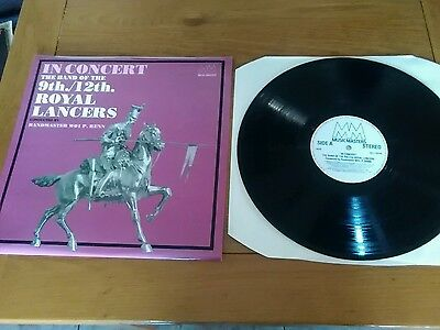 In Concert - The Band of the 9th/12th Royal Lancers LP