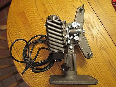 Vintage Revere Model 85 8mm Movie Projector W/Case Works, With 2 Empty Reels