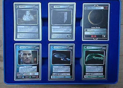 Star Trek CCG Limited Edition Collectors Tin Set