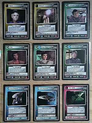 Star Trek CCG Alternate Universe Complete SET Future Enterprise UR ULTRA RARE