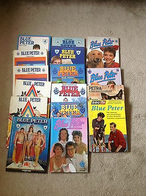 Collection Of Blue Peter Annuals Including Number 1