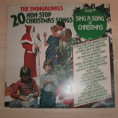 THE SWINGALONGS - Sing A Song Of Christmas (Vinyl Album)
