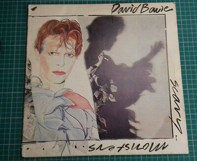 "David Bowie 12"" Vinyl Lp - Scary Monster"