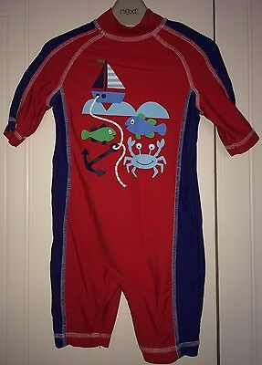 Boys Mothercare Age 18-24 Months - Swimming /Sun Protection Suit