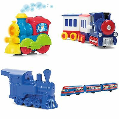 Train Choo Choo Kid Toys Bath Car Transportation Clockwork Whistle Bump Toy