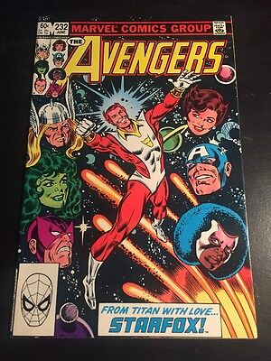Avengers#232 Incredible Condition 9.4(1983) Starfox Joins Team!!