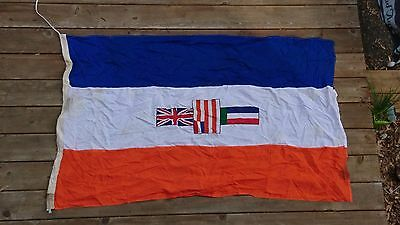Vintage South Africa flag 145cm x 90cm cotton