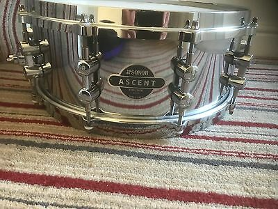 Sonor Ascent 14 x 5.5 Steel Snare Drum