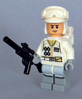 LEGO Star Wars 75098 75138 - White Hoth Rebel Trooper Minifigure, Backpack (NEW)