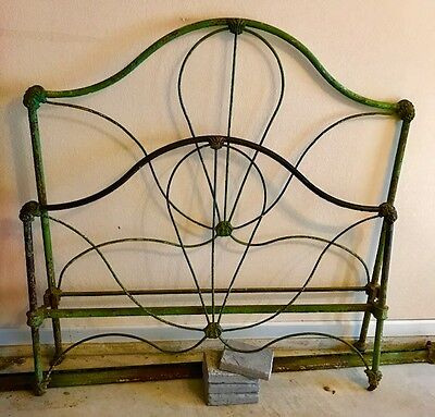 Victorian Iron Queen Size Bed
