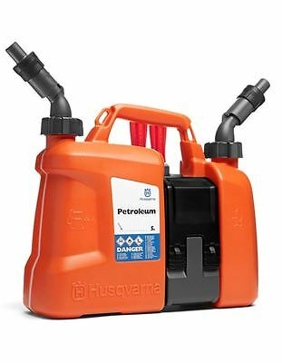 Husqvarna Combi Can for Petrol and Oil Fuel - Chainsaw Forestry Equipment