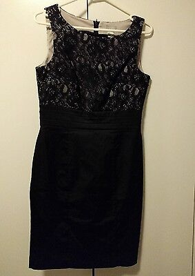 black lace cocktail dress to fit size 10