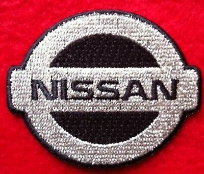 NISSAN  iron on embroidery patch  - SUV TRUCK  auto car Black Silver PATCHES
