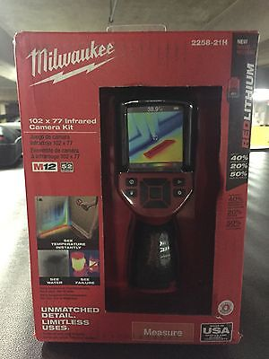 Milwaukee M12 Fuel Infrared Camera Kit 2258-21H
