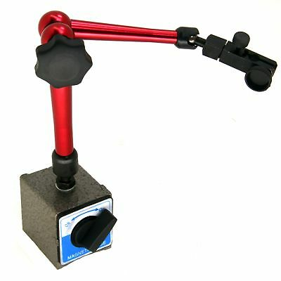 """HFS Large Magnetic Base Holder With 3/8"""" Clamping Hole"""