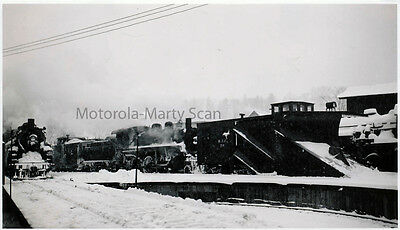 MEC Maine Central RR X361 Russell Wing Plow St Johnsbury VT Orig Darkroom Photo