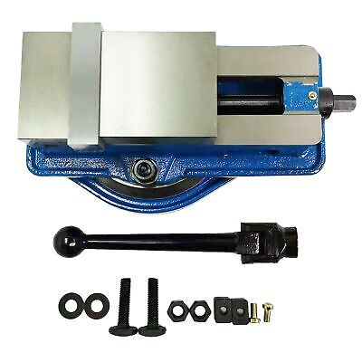 "HFS 4"" Milling Machine Lockdown Vise -Swiveling Base"
