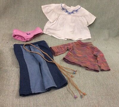 American Girl Julie Meet  Outfit Clothes
