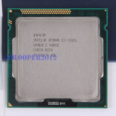 Free Shipping Intel Xeon E3-1265L LGA 1155 (SR0G0) CPU Processor 2.4 GHz