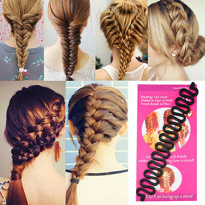 US Women Hair Braid Clip Magic Styling Stick Bun Maker Tool Fashion Accessories