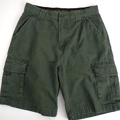 BOY SCOUTS OF AMERICA Youth 14 Uniform Shorts Cargo Canvas BSA Green