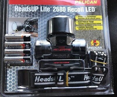 Pelican 2680-030-110 HeadsUp Lite Recoil LED Flashlight