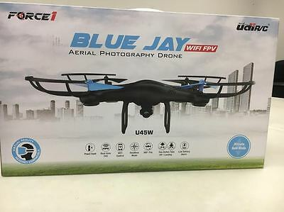Force1 U45W Blue Jay WiFi FPV Quadcopter Drone with HD Camera Altitude Hold