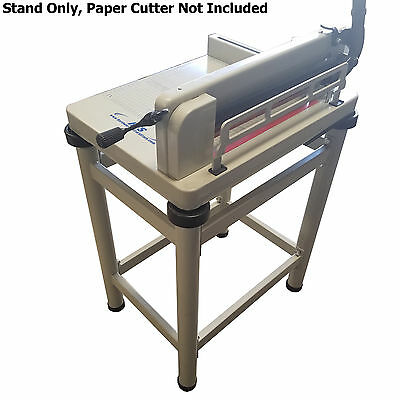 "HFS Paper Cutter Table Stand - For 12"" Guillotine Paper Cutter"