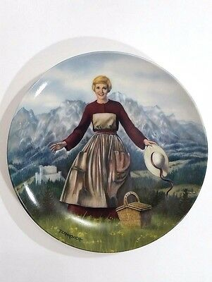"""Sound of Music """"Sound of Music"""" Collector First Plate E M Knowles 1986"""