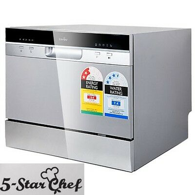 Electric Benchtop Dishwasher Freestanding Machine MORE WATER & ENERGY EFFICIENT