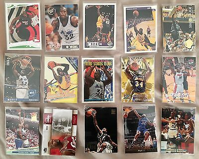 shaquille o'neal x15 Card Bundle Lot 1
